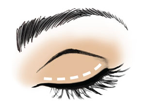 Get this easy eyeliner application tip.