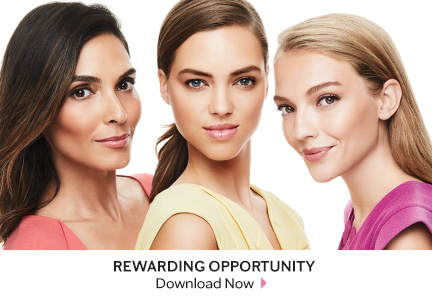 Group of 3 diverse Mary Kay models